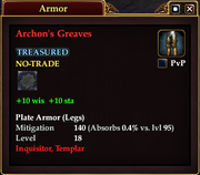 Archon's Greaves