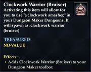 Clockwork Warrior (Bruiser)