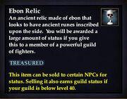 Ebon Relic