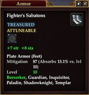 Fighter's Sabatons