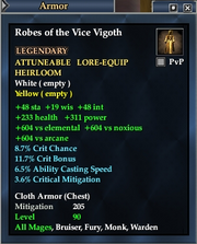Robes of the Vice Vigoth
