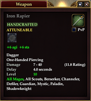 Iron Rapier