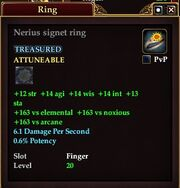 Nerius signet ring