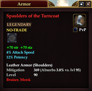 Spaulders of the Turncoat