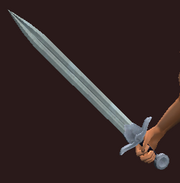 Magma forged longsword (Equipped)