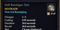 Soft Bandages Test