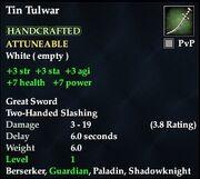 Tin Tulwar