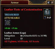 Leather Pants of Contamination