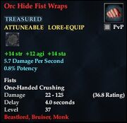 Orc Hide Fist Wraps