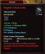 Prophet's Chain Cuffs