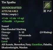 Tin Spatha