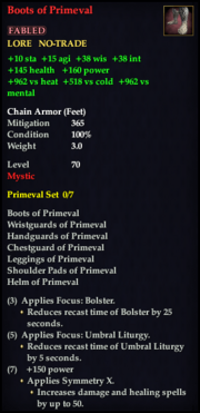 Boots of Primeval