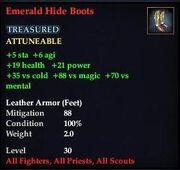 Emerald Hide Boots