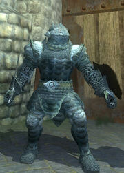 Orc marauder armor - Equipped