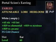 Portal Scion's Earring
