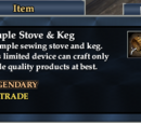 Simple Stove & Keg