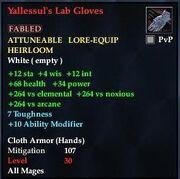 Yallessul's Lab Gloves