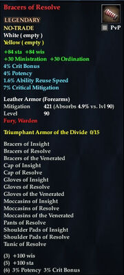 Bracers of Resolve