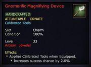 Gnomerific Magnifiying Device