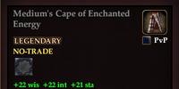 Medium's Cape of Enchanted Energy