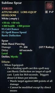 Sublime Spear