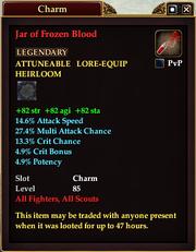 Jar of Frozen Blood