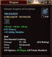 Ornate Sceptre of Everfrost