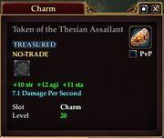 Token of the Thexian Assailant
