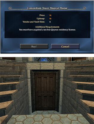 Concordium-tower-magical-manor