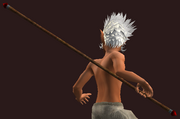Frostwind Champion's Bo Staff (Equipped)