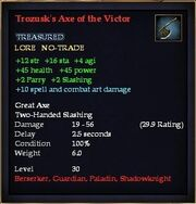 Trozusk's Axe of the Victor