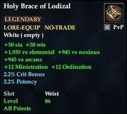 Holy Brace of Lodizal