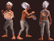 Buckler of Malformed Werewolf Bones (Equipped)