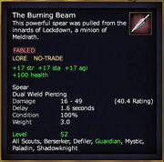 The Burning Beam