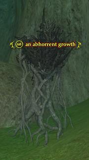 An abhorrent growth