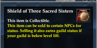 Shield of Three Sacred Sisters