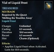 Vial of Liquid Frost