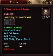 A Sentimental Charm