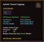 Aphotic Tanned Leggings