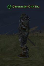 Commander Grik'Sna