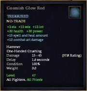 Gnomish Glow Rod