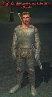 Knight-Lieutenant Raleigh