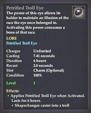Petrified Troll Eye