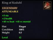 Ring of Koduhl