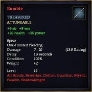 Rumble (Item)