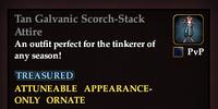Tan Galvanic Scorch-Stack Attire