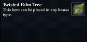 Twisted Palm Tree