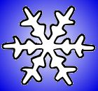 File:White and Blue Snowflake.jpg