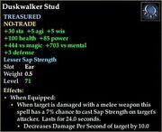 Duskwalker Stud