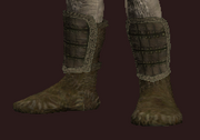 Wanderer's Rare Hide Leather Boots (Equipped)